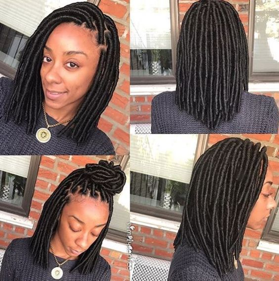 Pin By Kim On Locs With Images Faux Locs Hairstyles