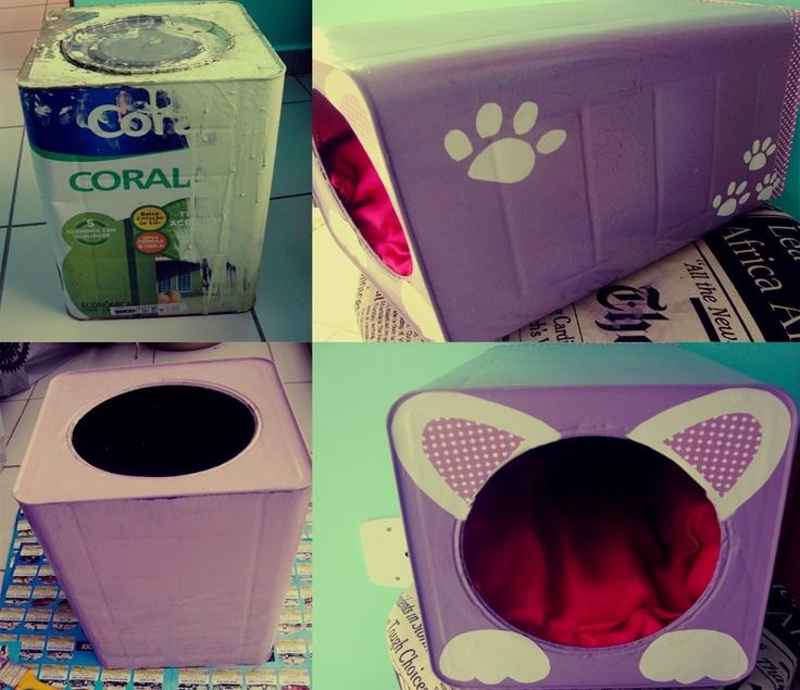 Casa de Colorir: Casas para seu Pet - Faça você mesmo!