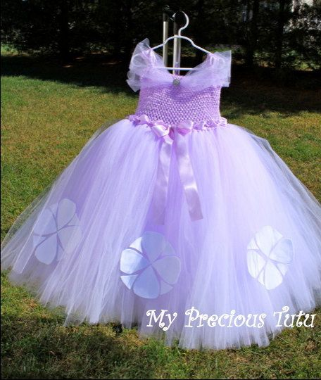 Sofia the First / Princess Sofia Dress by MyPreciousTutu on Etsy, $60.00