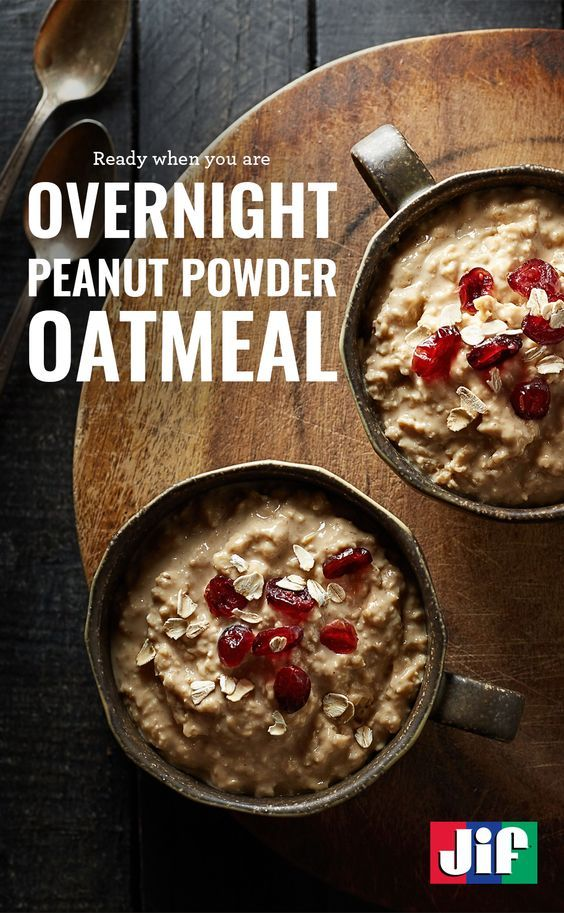 Make sure you have a hearty breakfast when you wake up with our Overnight Peanut Powder Oatmeal. Mix oats, peanut powder, milk, yogurt, honey and salt in a medium bowl. Then leave it in the refrigerator overnight and reheat for 30 seconds in the morning.