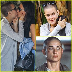 #Demi Moore's Daughter Tallulah Shaves Her Head & Channels Her Mom's 'G.I. Jane' Look! --- More News at : http://RepinCeleb.com  #celebnews #repinceleb #CelebrityUpdates