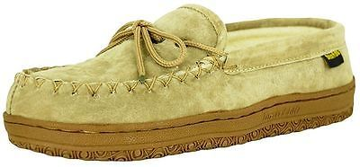 Old Friend Slippers Womens Terry Cloth Moccasin Chestnut 484132