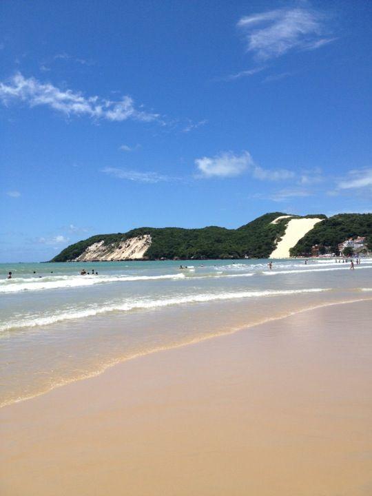 Praia da Ponte Negra - Natal - Rio Grande do Norte - Meu aniversário passarei aqui.