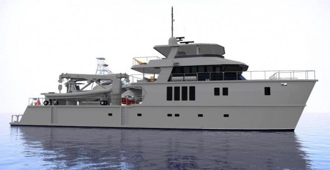 New Build 39.5m Expedition Yacht for Charter due 2018