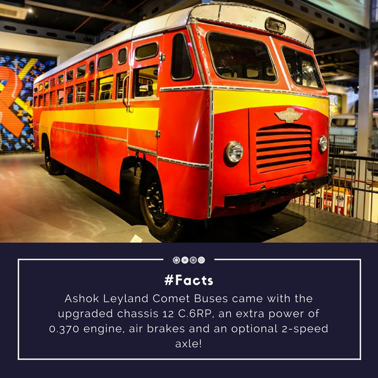 A 1963 Ashok Leyland Bus displayed at the heavy mechanised section of the museum! #vintagetransport #vintagebus #transportmuseum #vintagecollection #travel #incredibleindia