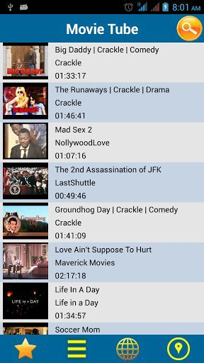 Enjoy unlimited movies with Movie Bank!<p>Movie Bank brings millions of free movies for you with one click. To watch your favorite movie, open this app and browse it among various listed categories. This app includes no. of categories such as Action, Animation & Cartoon, Comedy, Drama, Documentary,Food, Game,  Nature, News, Reality Shows, Science Fiction, Sports, Travel Thriller and Suspense etc.<p>Movie Bank also contains movies in multi-languages including English, French, Dutch, German…