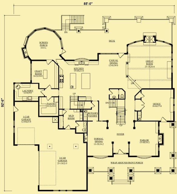 176 best floor plans images on pinterest house design mansions architectural house plans floor plan details luxurious waterfront living malvernweather Images