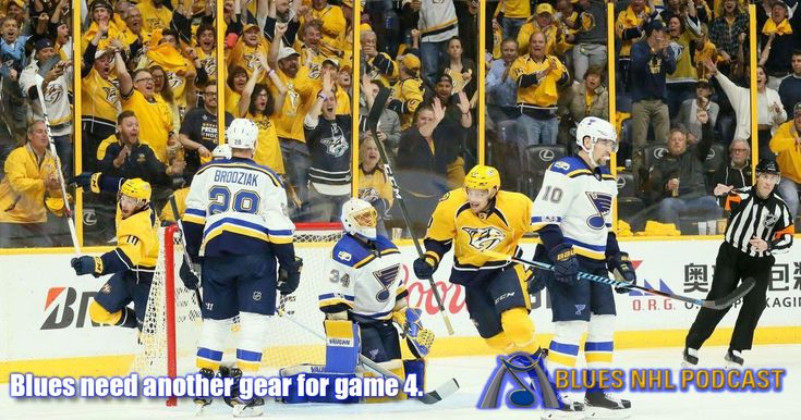 Blues Need Another Gear for Game 4