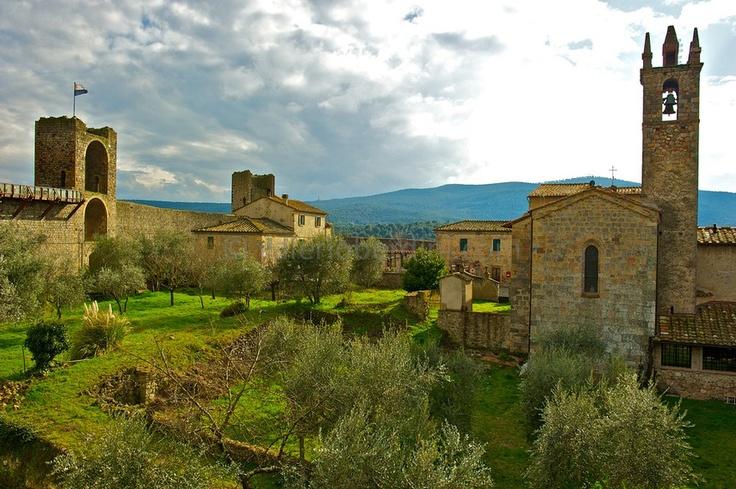Toscane, Monteriggioni