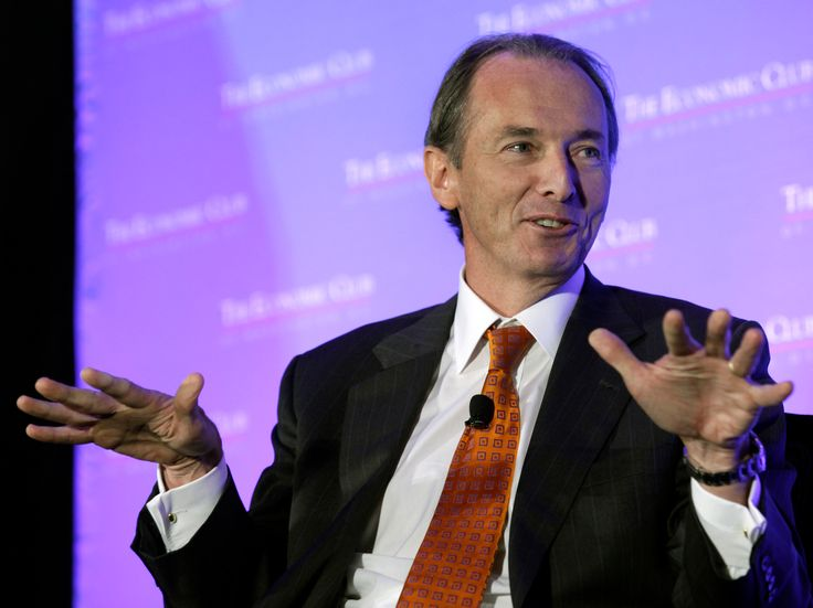 The CEO of Morgan Stanley took a shot at the startups shaking up investing (MS) - Morgan Stanley has taken notable steps to expand its digital offerings in its wealth-management business.  James Gorman, the firm's CEO, thinks pure robo platforms only appeal to a certain segment of the industry. He also questions the cost savings associated with going robo.  Roboadvisers claim they'regoing to dominatemoney management .Morgan Stanley CEO James Gorman isn't convinced.  The financial giant…