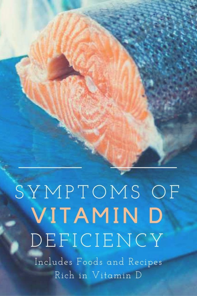 Symptoms of Vitamin D Deficiency Here's some of the symptoms of Vitamin D deficiency and ways to help you get more of it into your body.