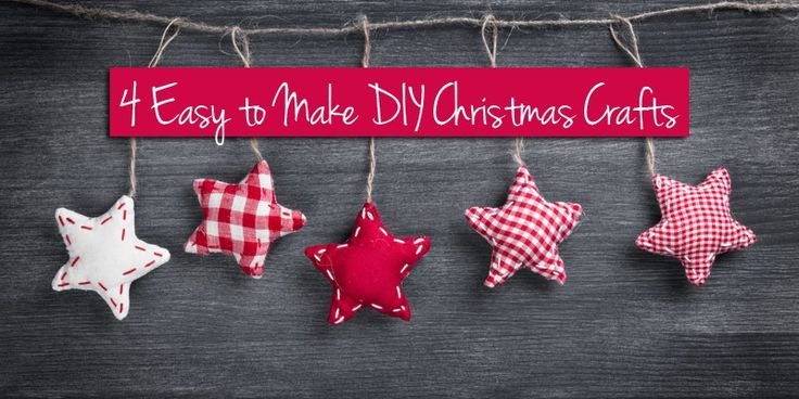 4 Easy diy christmas crafts