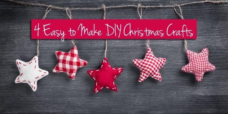 4 Easy diy christmas crafts #ebay