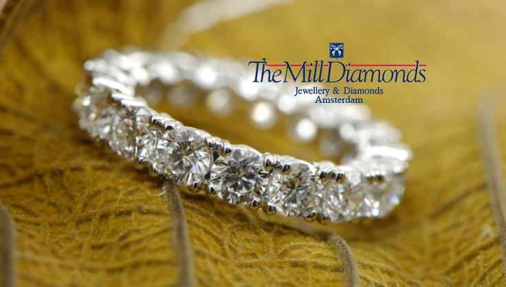 Diamond eternity MillDiamonds style..