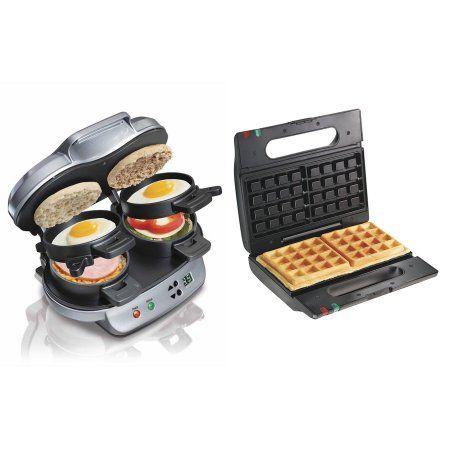 Free Shipping. Buy Hamilton Beach Breakfast Sandwich Maker + Proctor-Silex Belgian Waffle Maker at Walmart.com
