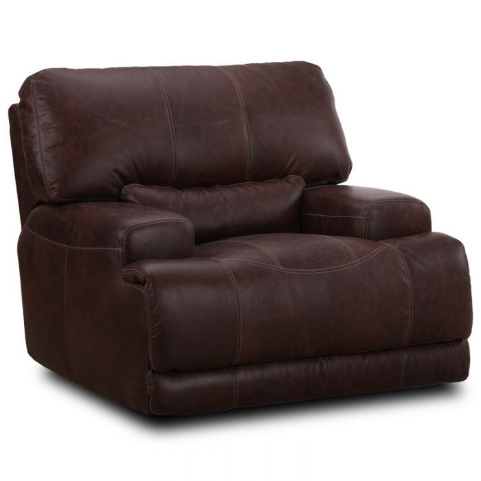 The Simon Li Rex Brunetta Top Grain Leather Power Recliner From Simon Li Comes Upholstered In Dark Mahogany Brown With Top G Power Recliners Recliner Furniture