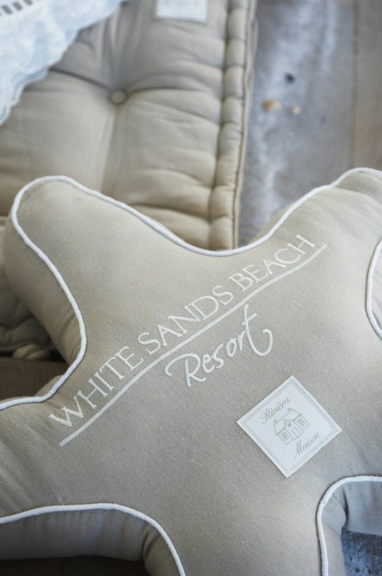 RM Star Fish Pillow