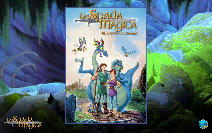 Non perdere su #TIMvision il #film d'#animazione La #Spada #Magica - alla #ricerca di #Camelot! #Avventura #Cavalieri #Dama #Avventura #FAmily #Fantasy #Dragon #Monster