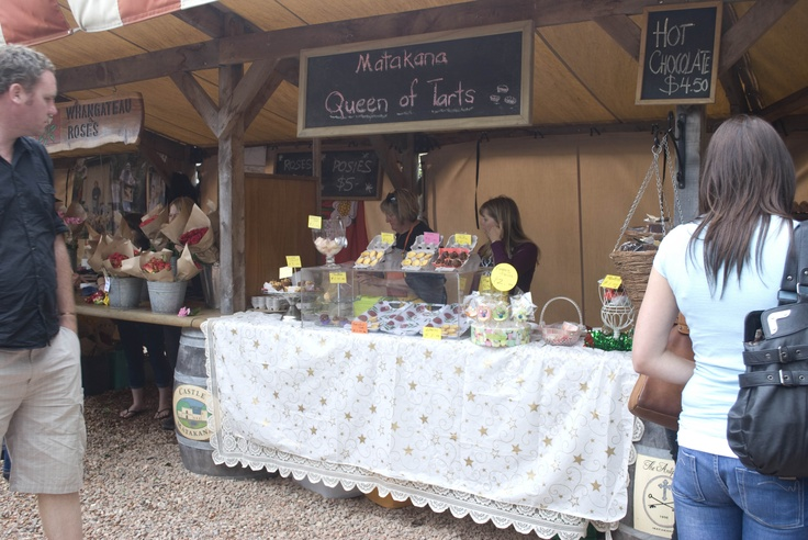 Queen of Tarts, something for everyone at the Matakana Markets.  #markets #matakana #auckland