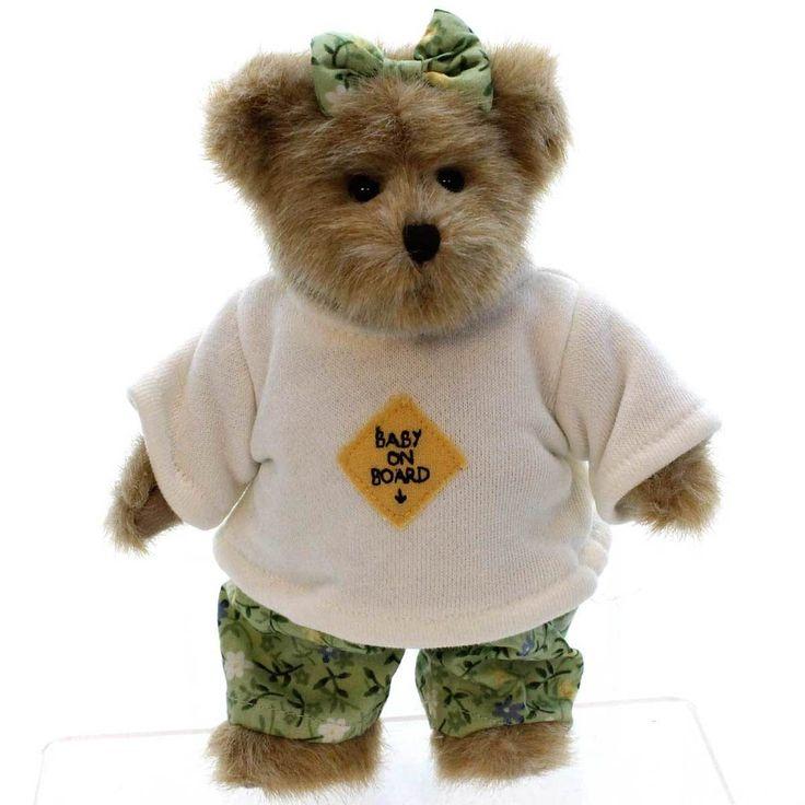 Ima Late - Genuine Boyds Bear Collectible Teddy