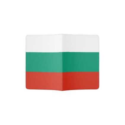 #Patriotic Bulgarian Flag Passport Holder - #travel #accessories