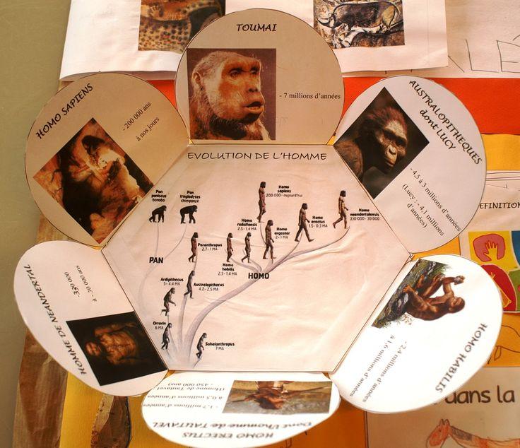 lapbook préhistoire
