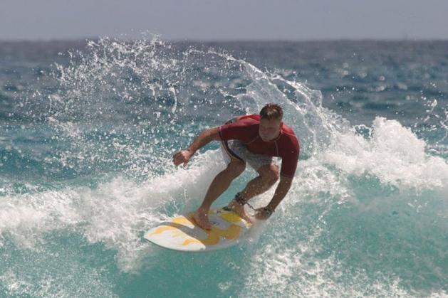 Surf en Punta del Este. Uruguay .