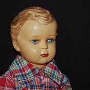 Adam Szrajer/ Schreyer /Шраер Необыкновенно трогательный малыш с пронзительным взглядом ярких синих глаз.  Куколка полностью из целлулоида.  Малыш без маркировки.