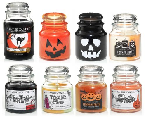 Yankee Candles 2012 #Halloween Collection, featuring Candy Corn, Witches Brew, and a bunch of new classics