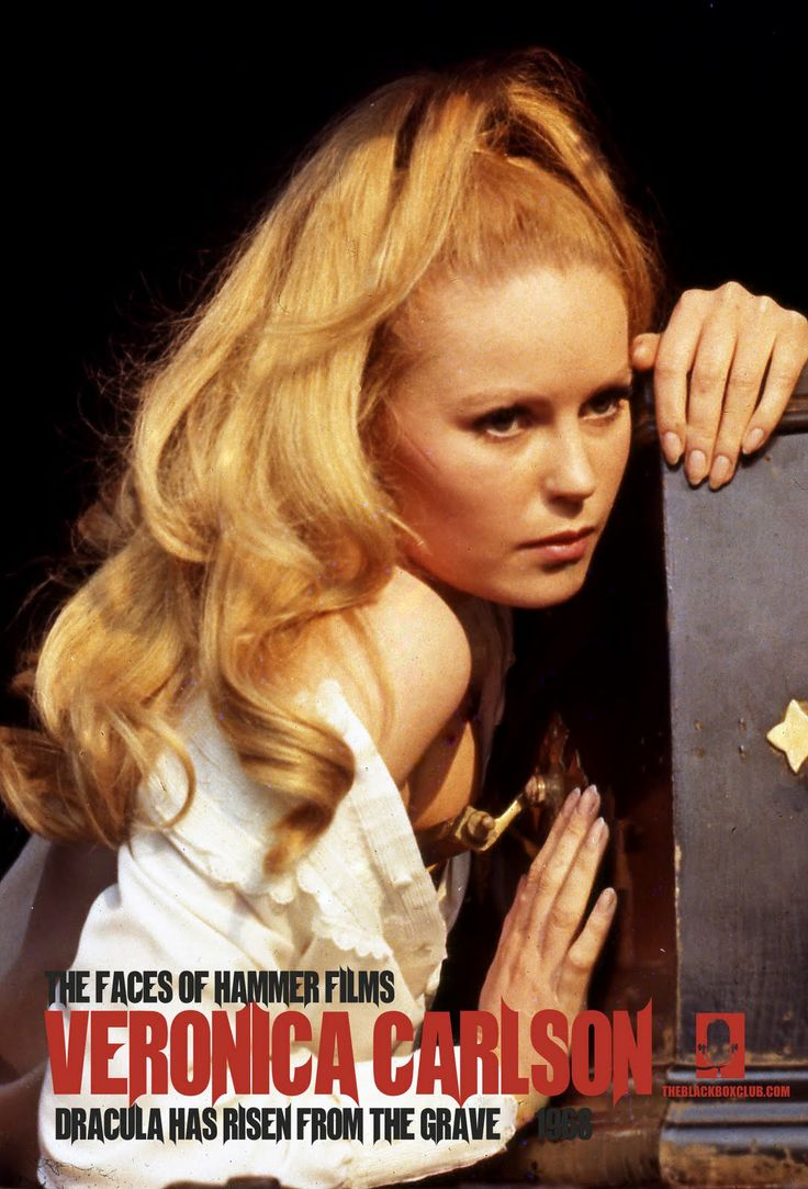 The Black Box Club: THE FACES OF HAMMER FILMS 9# VERONICA CARLSON