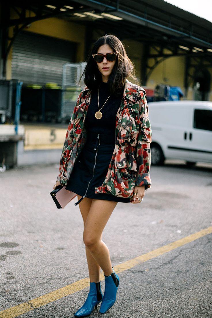Mini, midi o maxi, la falda protagoniza lo mejor del street style.