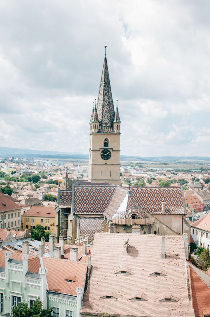 Romania Travel Inspiration - Sibiu, Romania - a beautiful city, with eyes! Here's why it should be on your bucketlist for the summer. Travel Candy