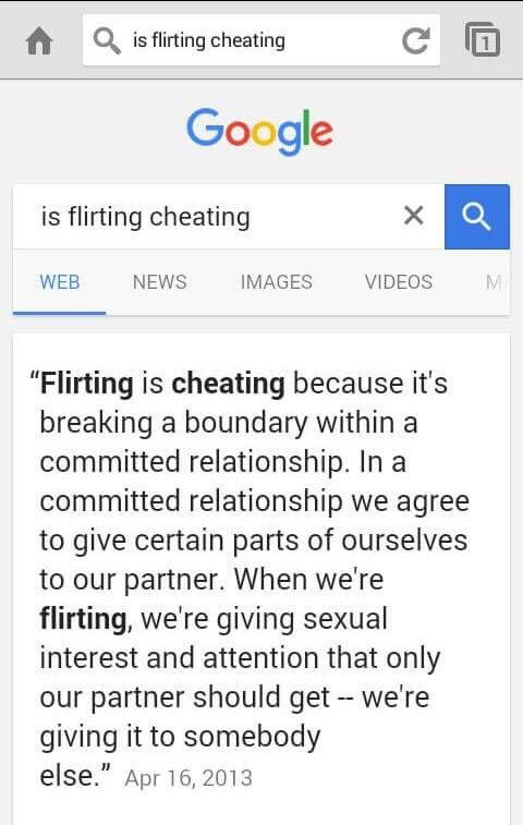 flirting is emotional cheating Originally answered: is flirting cheating if not, how do you define cheating emotional infidelity secret phone calls at night swooning over celebrities.