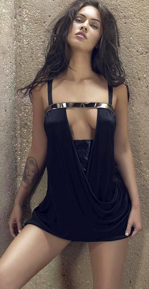 Megan Fox. Foxy lady!!