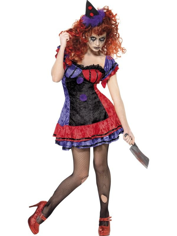 buy adult cirque sinister bo bo the clown costume available for next day delivery our adult cirque sinister ladies bo bo the clown costume comes complete