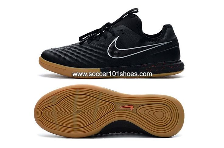 Nike Men's MagistaX Finale II IC Indoor Soccer Football Shoes Black $73.00