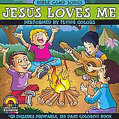 Jesus Loves Me Bible Camp Songs by Flying Colors (CD, Music, Christian, New)