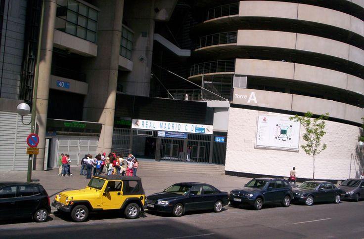 Μαδρίτη - Γήπεδο ΡΕΑΛ (Μπερναμπέου)