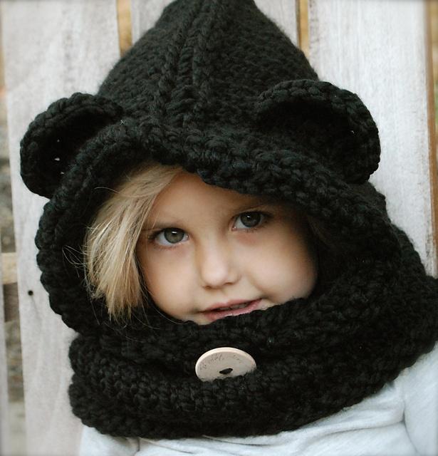 Ravelry: The Burton Bear Cowl pattern by Heidi May @Alicia Dean :)