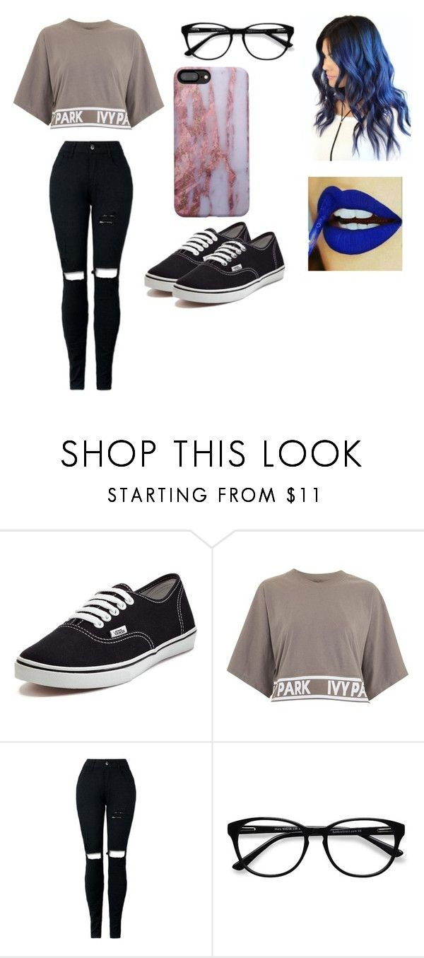 Cusual Outfits by dariamiruna on Polyvore featuring Topshop, Vans and EyeBuyDirect.com