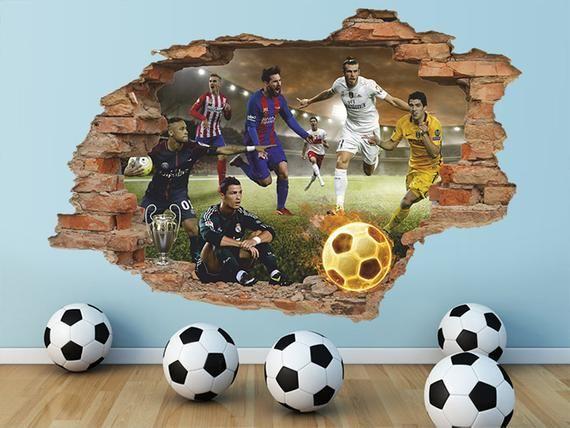 Football Wall Decal Sports Wall Decal Football Wall Decor Sports Room Decor Boy Wall Decal Are You Ready For Football Wall Deca
