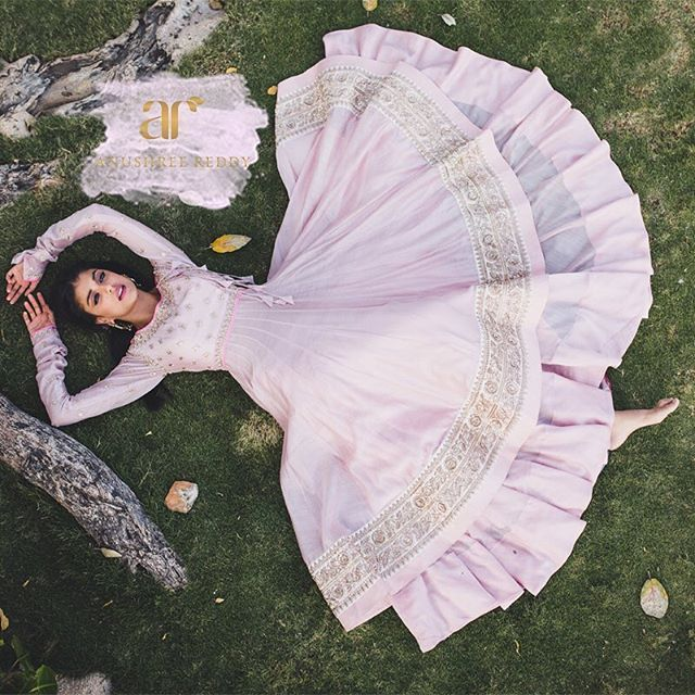 The fervour of warm sugary tints takes front stage by injecting blustery days with sweetness and a dash of whimsy.  #EmpyreanEnchantress  Styling & conceptualisation : Anushree Reddy Photography : @storiesbyjosephradhik