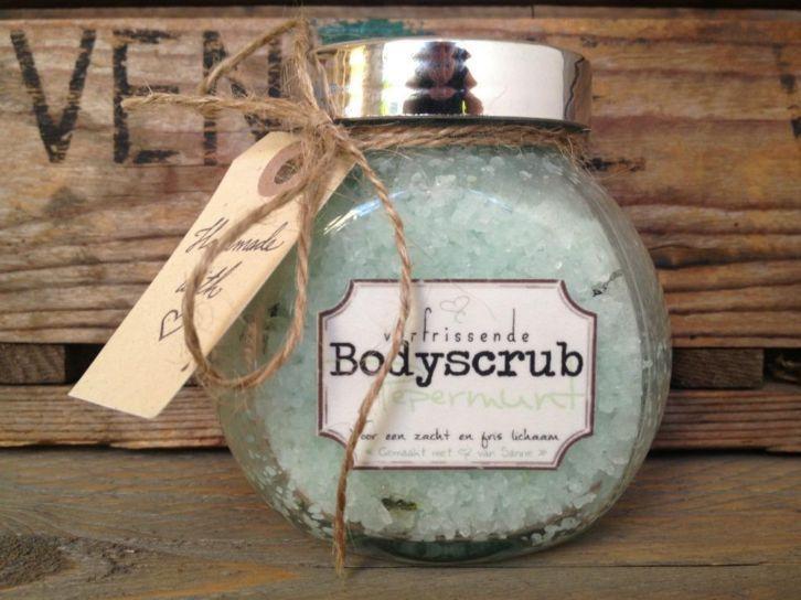 Bodyscrub voor een zijdezachte en frisse huid.