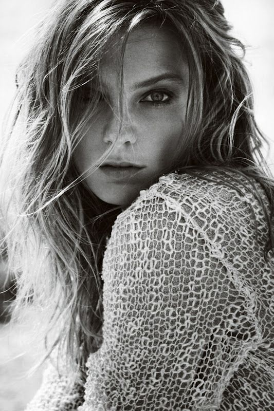 beachy waves - Stefanel SS12/Daria Werbowy