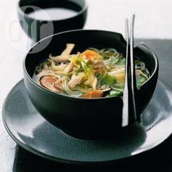Soupe de poulet à la japonaise @ allrecipes.fr