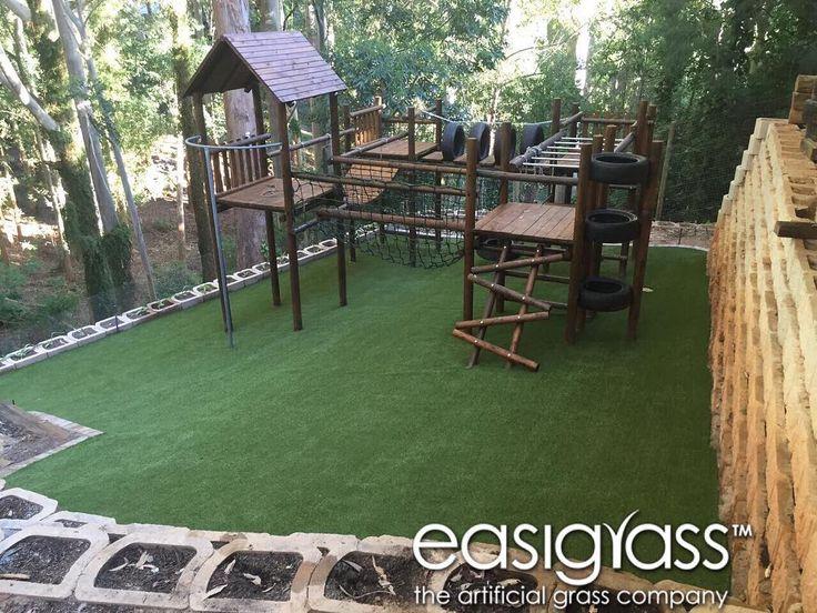 Kids Play area #easigrass #syntheticgrass #helderberg #waterwise #waterwisegardening