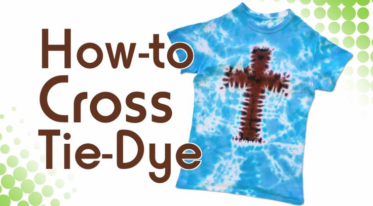 Tie Dye up some VBS fun with a cross shirt using Tulip One-Step Tie-Dye!  Watch this video: https://www.youtube.com/watch?v=gm6G7qMom4s