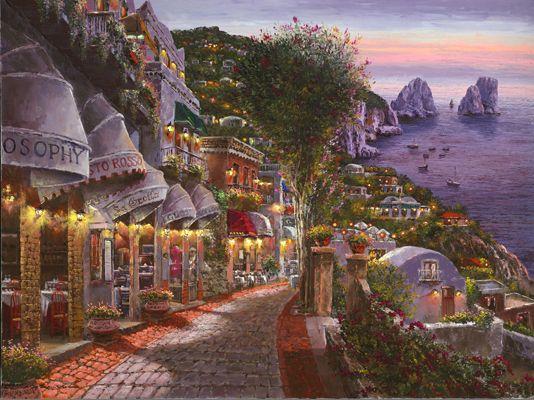 SAM PARK ARTIST   Coastal Scenes by Sam Park Artist
