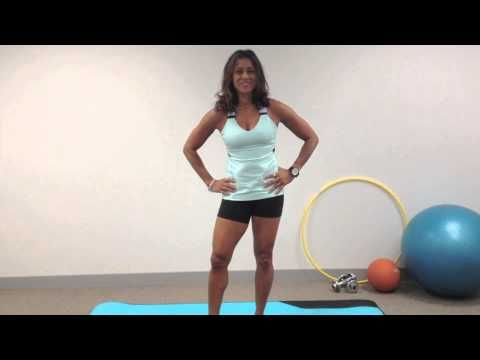 Ramona Braganza's 3,2,1 mini workout