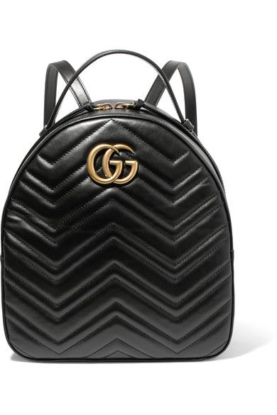 88c32b2c1c0ef5 GUCCI GG Marmont quilted leather backpack. #gucci #bags #leather #backpacks  #